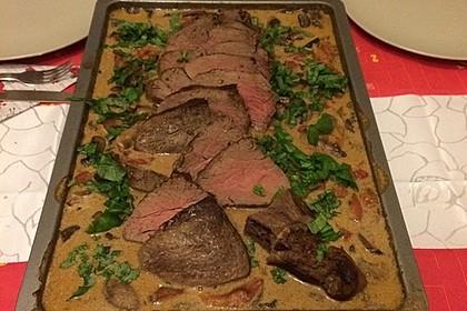 Rinderfilet aus dem Ofen 1