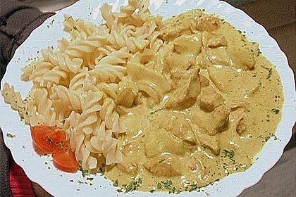 Hähnchen - Curry mit Äpfeln 6