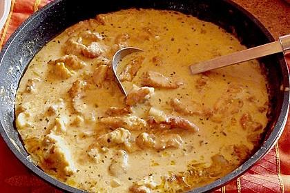 Hähnchen - Curry mit Äpfeln 4