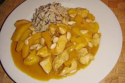 Hähnchen - Curry mit Äpfeln 2
