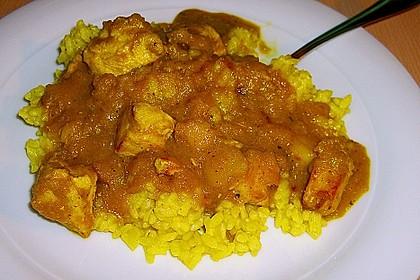 Hähnchen - Curry mit Äpfeln 3