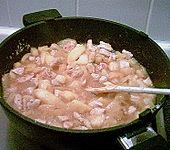 Hähnchen - Curry mit Äpfeln (Bild)