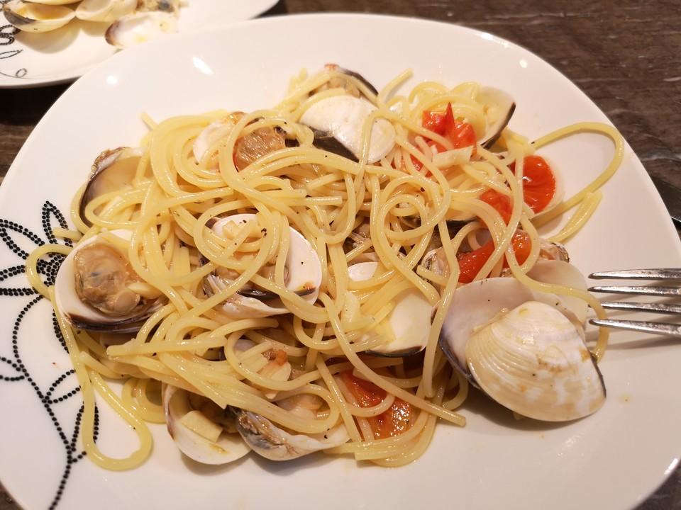Spaghetti Vongole Schuhbeck