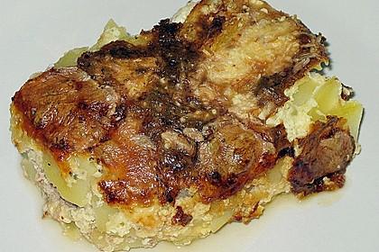 Kartoffelgratin 4