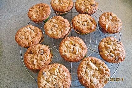 Apfel - Rum - Rosinen Cookies 16