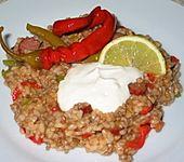 Balkan Reisfleischpfanne