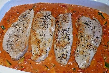 Gorgonzola-Schnitzel 43