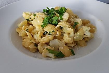 Italienische Nudeln mit Blumenkohl 1