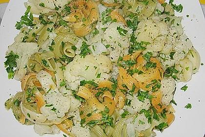 Italienische Nudeln mit Blumenkohl 2