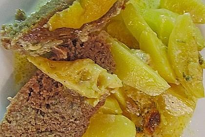 Hackbraten im Kartoffelbett 17