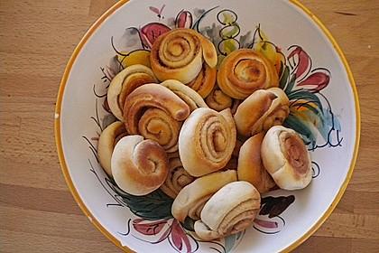 Schwedische Zimtschnecken (Kanelbullar) 164
