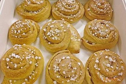 Schwedische Zimtschnecken (Kanelbullar) 66