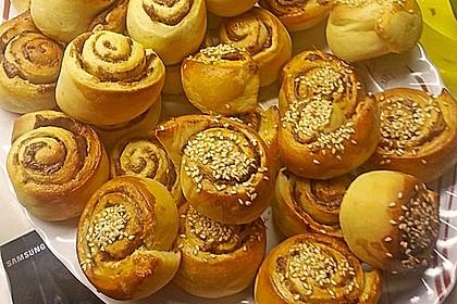 Schwedische Zimtschnecken (Kanelbullar) 70