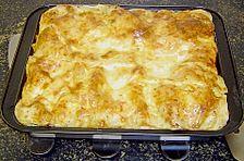 Austernpilz - Lachs - Lasagne