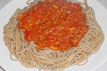 Friedhelms Bolognese mit Champignons 5