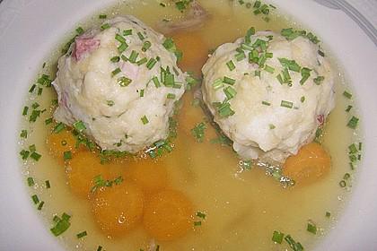 Tiroler Knödel Suppe 3