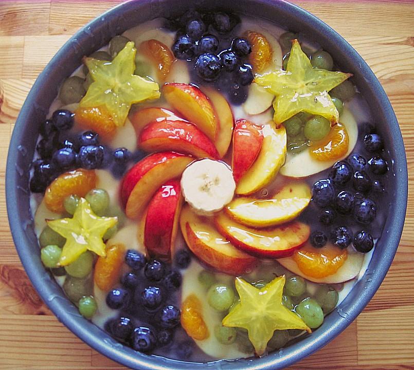 Schnelle Blechkuchen Rezepte Mit Bild: Frucht Sahne Torte Rezepte