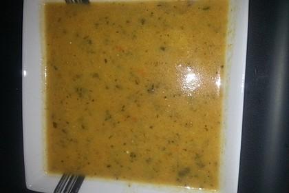 Zucchini - Cremesuppe (mit Lauch, Tomaten & Karotte) 0