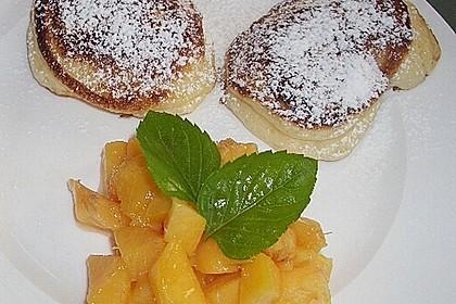 Quarkpuffer mit Pfirsichen 10