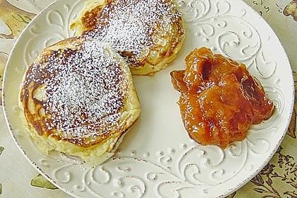 Quarkpuffer mit Pfirsichen 12
