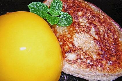 Quarkpuffer mit Pfirsichen 23