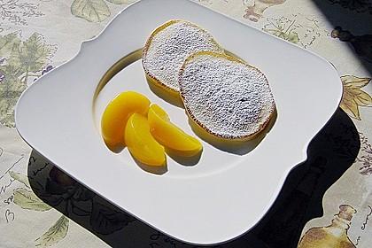 Quarkpuffer mit Pfirsichen 4