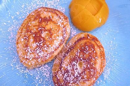 Quarkpuffer mit Pfirsichen 1