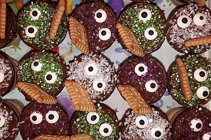 Kleine Kuchen im Waffelbecher 197