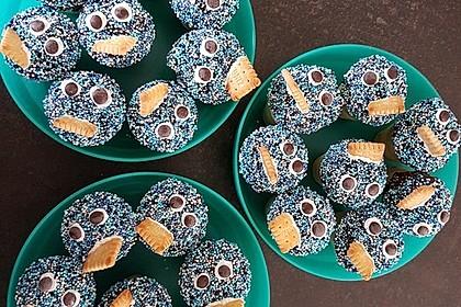Kleine Kuchen im Waffelbecher 44