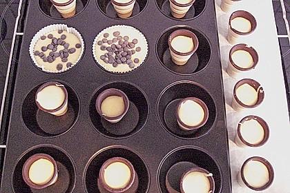 Kleine Kuchen im Waffelbecher 394
