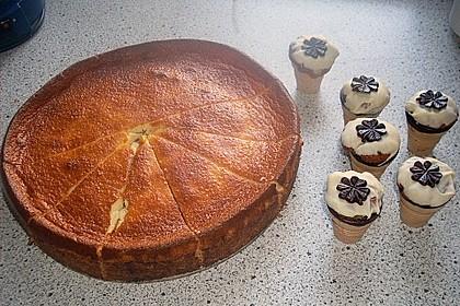 Kleine Kuchen im Waffelbecher 275