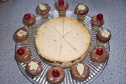 Kleine Kuchen im Waffelbecher 321