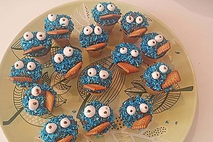 Kleine Kuchen im Waffelbecher 8