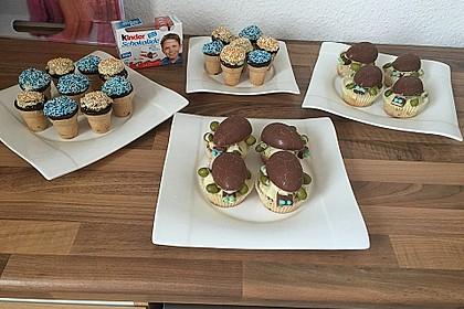 Kleine Kuchen im Waffelbecher 105