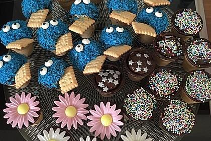 Kleine Kuchen im Waffelbecher 172