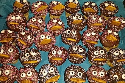 Kleine Kuchen im Waffelbecher 184
