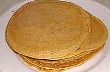 Pfannkuchen aus roten Linsen