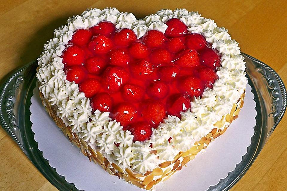 Herzform rezepte torten