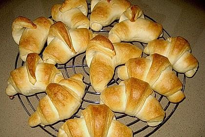 Frühstückskipferln nach Eichkatzerl Art 9