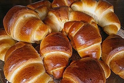 Frühstückskipferln nach Eichkatzerl Art 18