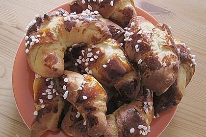 Frühstückskipferln nach Eichkatzerl Art 45