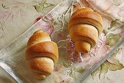 Frühstückskipferln nach Eichkatzerl Art 32