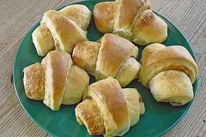Frühstückskipferln nach Eichkatzerl Art 2