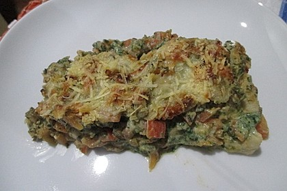 Ricotta und Spinat - Wraps (Bild)
