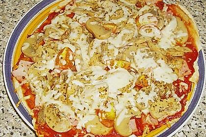 Binchens leichte Pfannenpizza 16