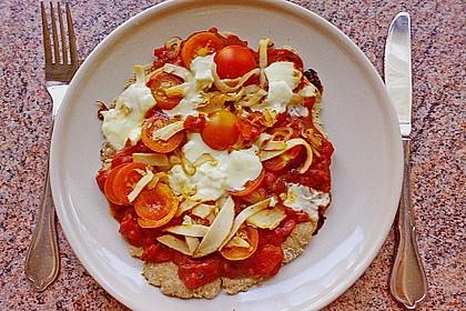 Binchens leichte Pfannenpizza