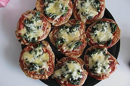 Binchens leichte Pfannenpizza 1