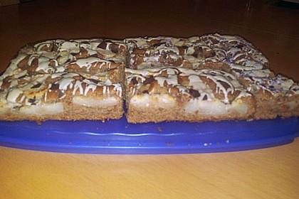 Apfel - Schokoladen - Kuchen 5