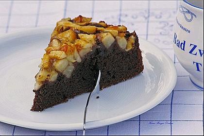 Apfel - Schokoladen - Kuchen 2
