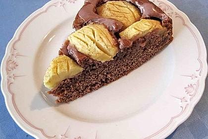 Apfel - Schokoladen - Kuchen 1
